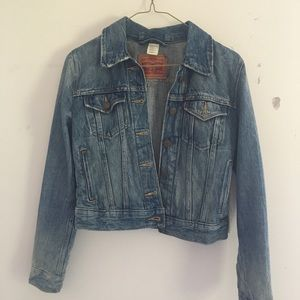 Levi's Denim Jacket Tight Fit